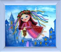 Схема для вышивки бисером Ангел-хранитель (по картине О. Дарчук)