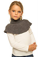 Детский шарф-манишка ТМ Tashkan р.104-122 (серый)