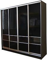 ШКАФ-КУПЕ для гостинной №1 с комбинированным фасадом ТМ Матролюкс