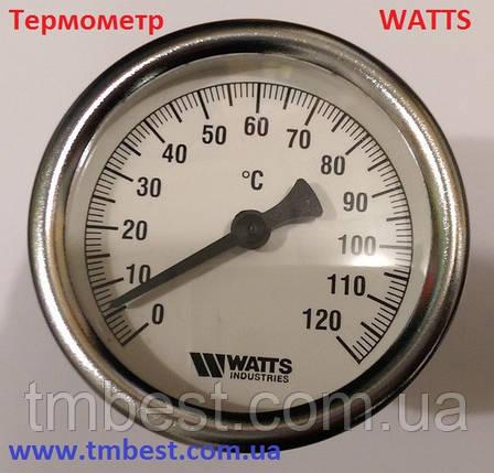 Термометр WATTS 0 - 120 C, фото 2