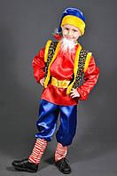 Костюм Гном Весельчак для мальчиков 3,4,5,6,7 лет Детский карнавальный новогодний костюм для детей 344