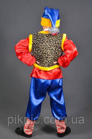 Костюм Гном Весельчак для мальчиков 3,4,5,6,7,8 лет. Детский карнавальный маскарадный для детей, фото 2