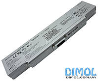Аккумуляторная батарея для Sony Vaio VGN-AR series, silver, 5200mah, 10.8-11.1v