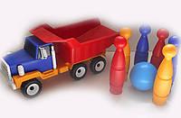 Машина с кеглями Украина, Color Plast