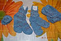 Детские носочки, махра, р.18, 5-6лет. зимние носки детские. теплые носки