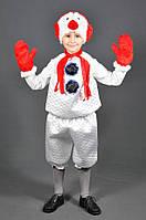 Детский карнавальный костюм Снеговик. Новогодний маскарадный костюм на Новый Год