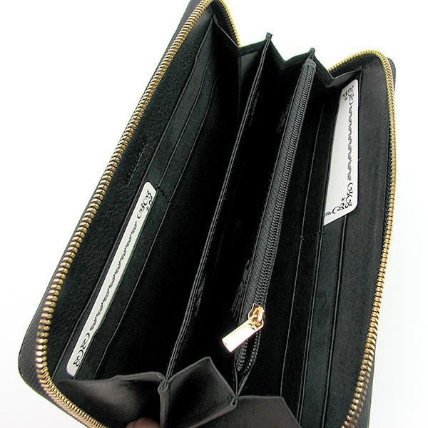 65a0178ba227 Женский кожаный кошелек на молнии черный Moro & Jenny 149-76, ...