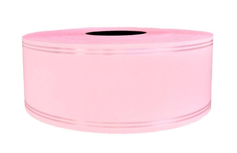 Лента флористическая светло-розовая 5см х100м