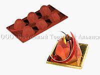 Силиконовая форма для десертов - Pavoni - FR034 - Кристаллы