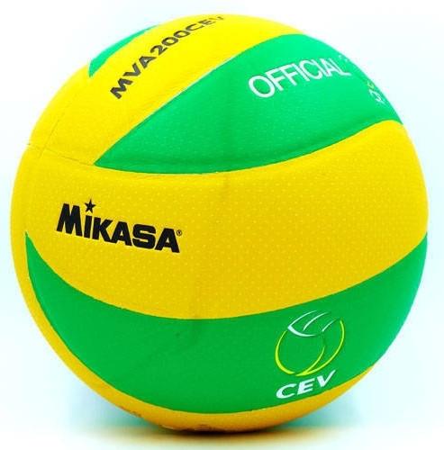 М'яч волейбольний Клеєний PU MIK VB-5940-J MVA-200CEV (PU, №5, 3 шари)