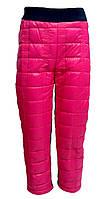 Теплые зимние штаны для девочек