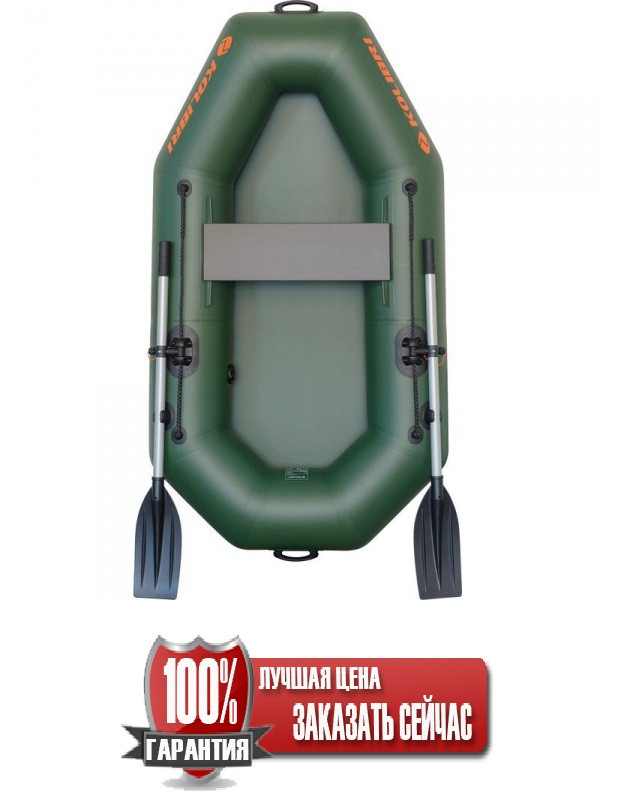 Надувная лодка Kolibri К-190 гребная одноместная