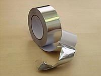 Алюминиевый скотч упаковочный, ширина 48 мм, намотка 20 м. В упаковке 6 шт.