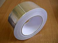 Алюминиевый скотч упаковочный, ширина 48 мм, намотка 10 м. В упаковке 6 шт.