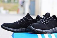 Мужские кроссовки Adidas Yeezy Boost  / кроссовки мужские Адидас Изи Буст весна-осень, черные, 2016-2017