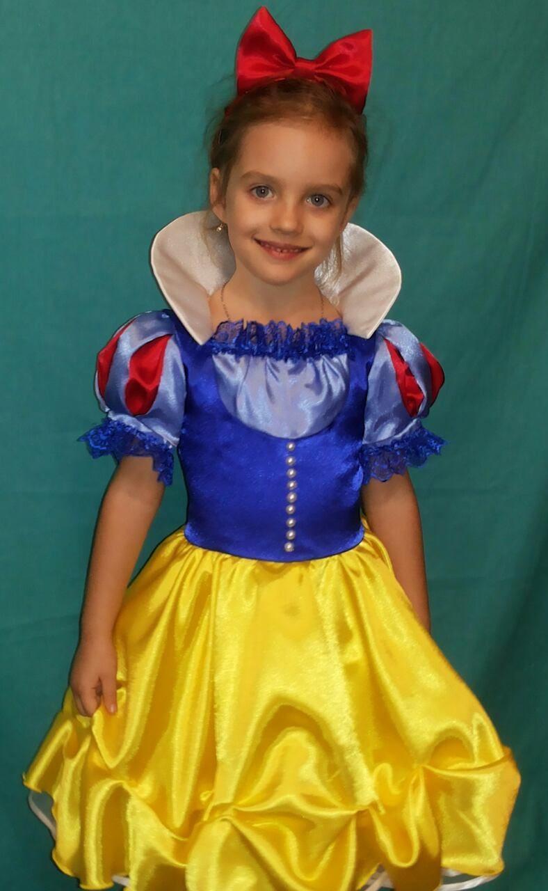 cd6b6842f7acc1b Детский костюм Белоснежки для девочки - интернет- магазин Нарядные платья  для девочек POLINA PRINCESS в