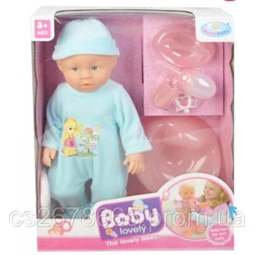 "Пупс ""Baby Lovely"" WZJ009A-1 пъет, писает, ест"