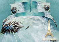 Комплект постельного белья 3d сатин 2 спальный Легкость