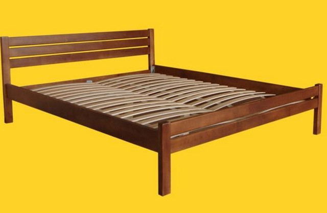 Кровать полуторная Классика ТИС (бук)