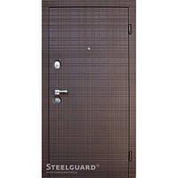 Двери входные металлические «SCOTCH» Венге горизонт 117 Серия «MAXIMA»