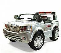 Детский электромобиль YJ205 R/C, два места, свет, звук, МР3-разъем, мощный внедорожник, подарок ребенку