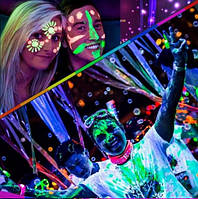 Светящийся в темноте пигмент порошок флуоресцентный  в ассортименте 12 цветов (цена за 1шт)