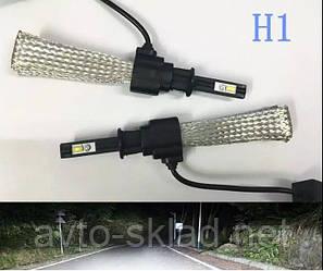 Світлодіодні лампи LED SUPER Н1 12-24V 6500/3200 lm з диодоми OSRAM