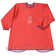 Рубашка Детская для игр и кормления(Eat and Play Smock), красная