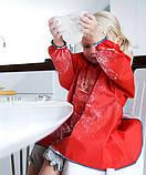 Рубашка Детская для игр и кормления(Eat and Play Smock), голубая , фото 3