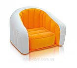 Детское надувное кресло intex 68597G (Зелёный), фото 4