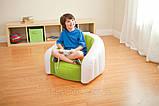 Детское надувное кресло intex 68597G (Зелёный), фото 5