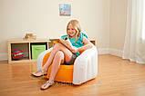 Детское надувное кресло intex 68597G (Зелёный), фото 6
