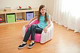 Детское надувное кресло intex 68597G (Зелёный), фото 7