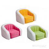 Детское надувное кресло intex 68597G (Зелёный), фото 8