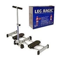 Тренажер LEG MAGIC HT-67 (метал, пластик, піногума, р-р 107x44x98см, вага корист. До 100кг)