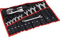 Набор ключей рожково-накидных в капроновой сумке, 12 шт (51-714)