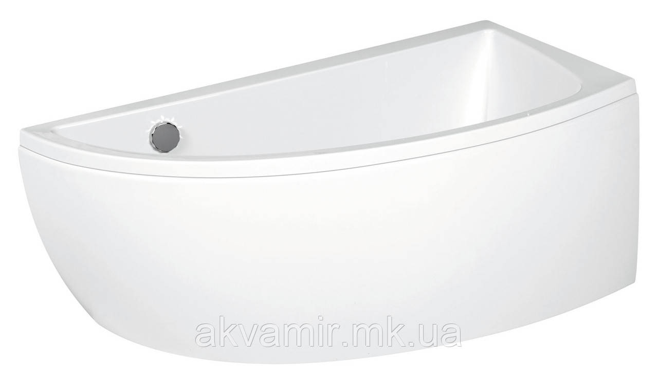 Ванна акрилова Cersanit Nano 140х75 CR права з ніжками