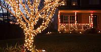 """Светодиодная гирлянда уличная (нить) """"String Light"""" 10 метров , 100 led для создания декораций"""