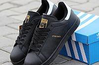Женские кроссовки Adidas Stan Smith / кроссовки женские  Адидас Стен Смит весна-осень, пресс кожа