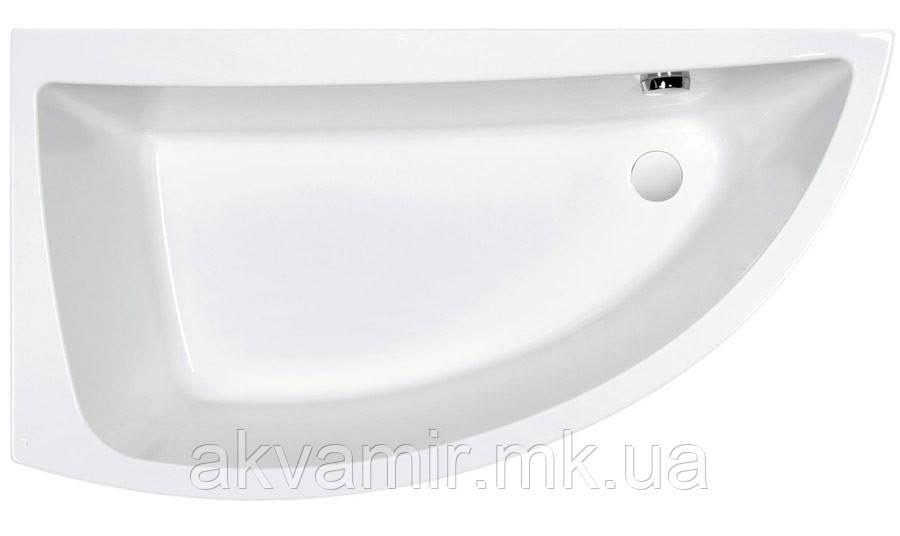 Ванна акриловая Cersanit Nano 150х75 CR левая с ножками