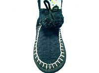 Высокие тапочки - носочки с помпоном махер 36-38