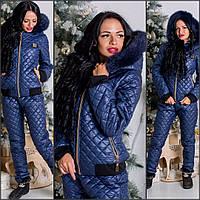 Зимний спортивный костюм на силиконе Мод . 079023