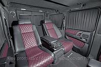 Установка диванов Mercedes-Benz S-class w221 в Mercedes-Benz G-class.