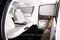 Установка диванов Mercedes-Benz S-class w221 в Cadillac Escalade.