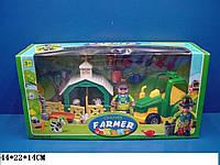Игровой набор Юнный фермер320 в коробке 44*22*14 см.