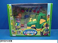 Игровой набор Юнный фермер 319 в коробке 28*22*14 см.