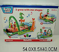 Коврик для малышей Троп. лес 3059 , музыкальный