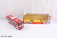 Музыкальная игрушка Автобус B1028 батар., свет, в кор. 13*36*9см