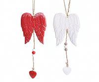 Декоративная подвеска елочная Крылья Ангела,новогодние украшение