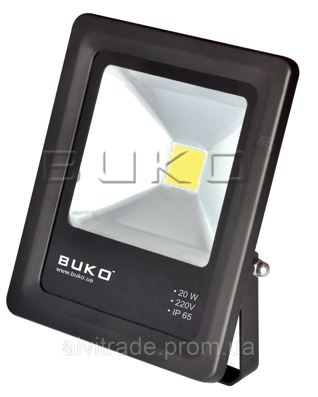 Светодиодный прожектор (LED) BUKO BK379, 20W